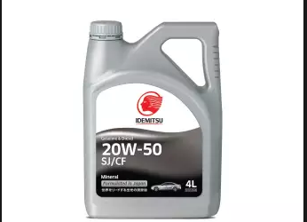 IDEMITSU SJ/CF 20W-50 Car Engine Oil-4L