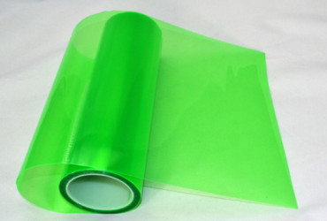 PVC Material Car Sticker – Green