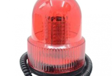 GY-60065/72LED 12 Rotary, Police Light – Red