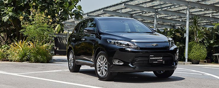 Toyota Harrier Premium Pkg, Black 2014