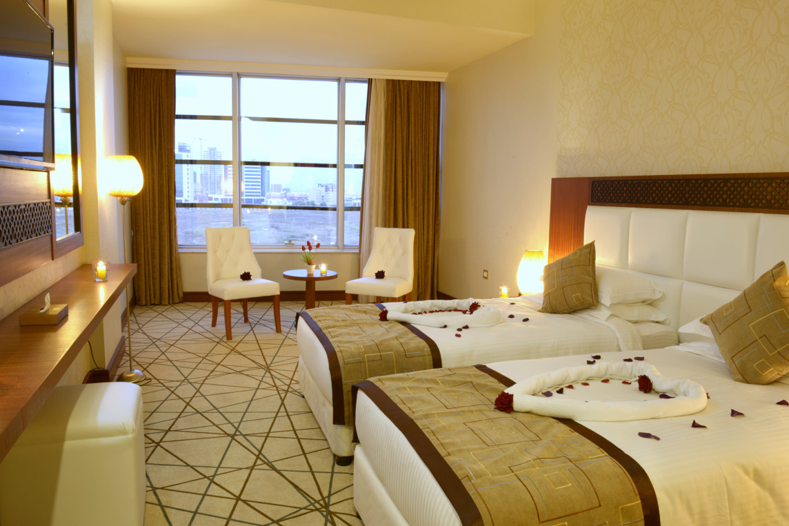 Double Deluxe Room @ Royal Palm Hotel