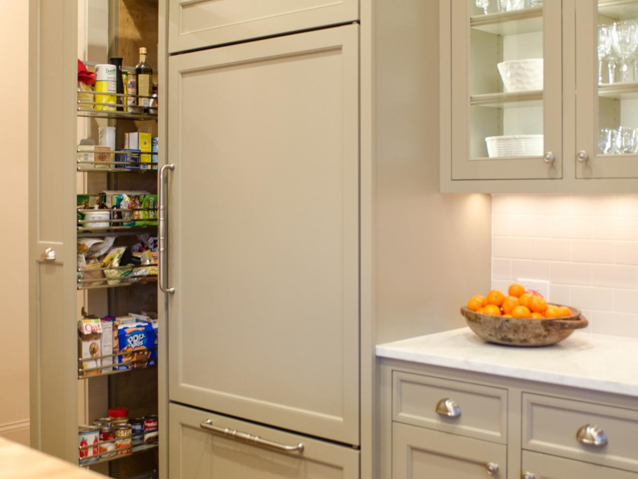Pantry for Kitchen Design Solution