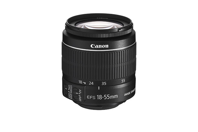 canon kit lens EFS 18-55 and hood