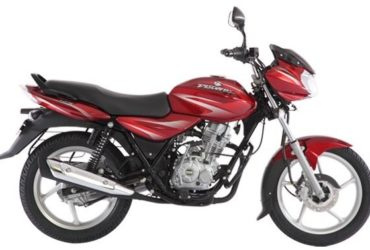 Bajaj Discover red black 2017