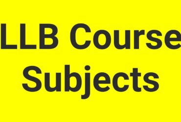 LLB Subject